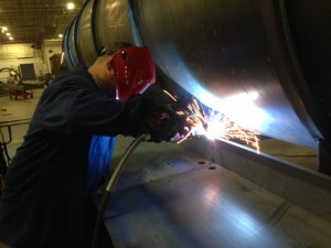 The correct welding procedure can significantly reduce distortion