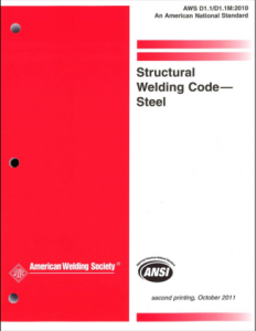 AWS D1.1 Structural Welding Code - Steel
