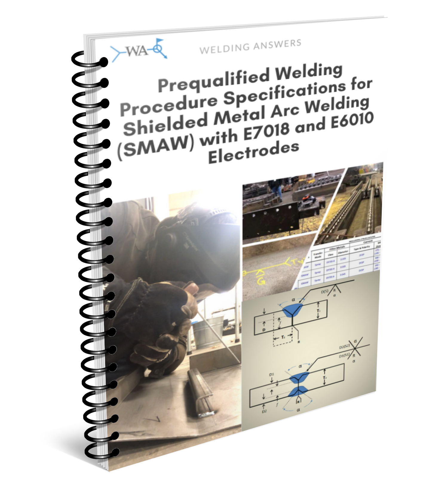 Are you looking for welding procedures for E6010 and/or E7018 stick processes? Click the image above to get 48 Prequalified WPSs for SMAW in conformance with AWS D1.1 Structural Welding Code.