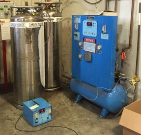 Shielding gas mixers should be calibrated annual to assure the mixture remains within code requirements.