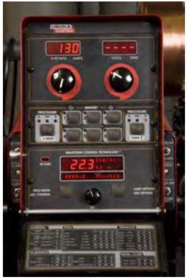 Newer welding machines have the ability of displaying total energy of each and every weld that you make.