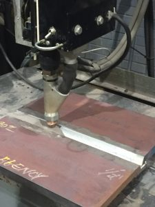 The same cleaning done on procedure qualification plates should be done on production joints.