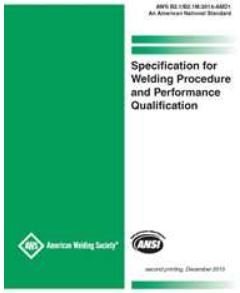 AWS B2.1 provides general requirements for the qualification of welding procedures and welder performance