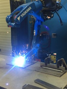 Substituting semi-automatic welding with automation is a great way to reduce exposure.