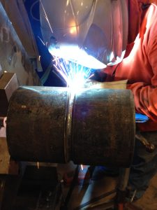 Welders must maintain a welders log to show that they have used the welding process for which they are qualified within the last six months in order keep their qualification in effect.