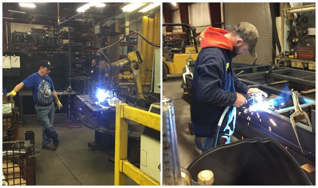 Do yourself a favor and never weld without welding hood, regardless of how small the weld is.