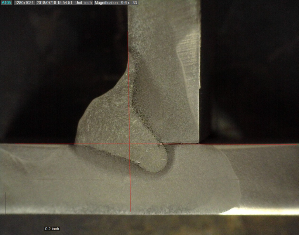 Deep penetrating welds are susceptible to solidification cracks. The base material chemistry plays a huge role in this as impurities will increase the probability of a crack.