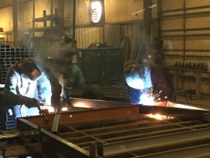 Gas metal arc welding is the most popular arc welding process in manufacturing facilities. It's high electrode efficiency and ability to deposit metal at a high rate make it a very attractive process for high productivity environments.